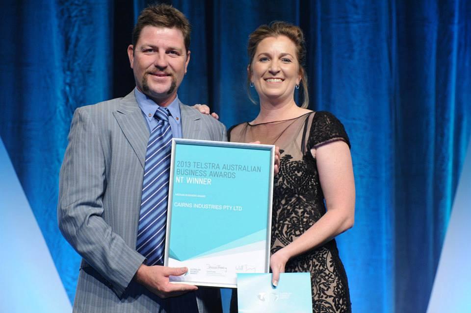 2013 Telstra Awards Winners photo